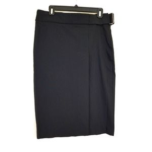 bebe Size 8 Black Pencil Straight Skirt